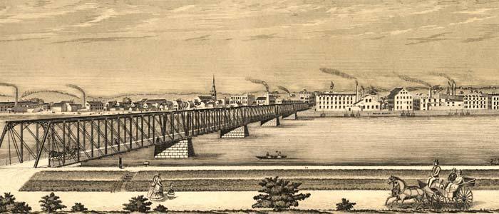 Panorama of Moline, Ill. image