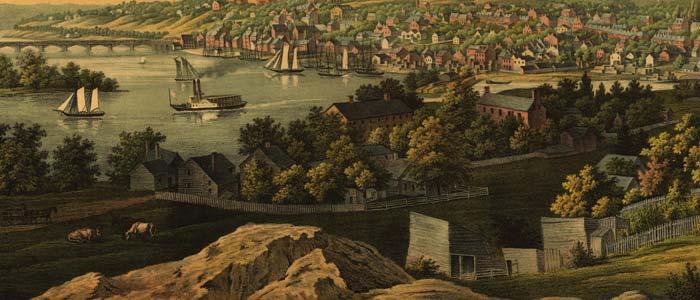 View of Georgetown, Washington D.C. image