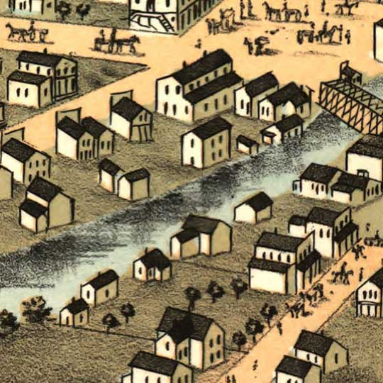 Birdseye view of Northfield, Minnesota image detail