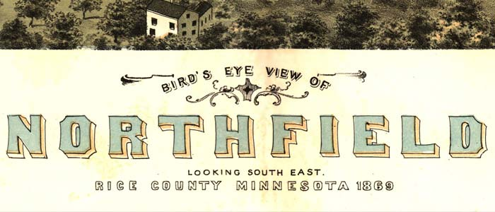 Birdseye view of Northfield, Minnesota image