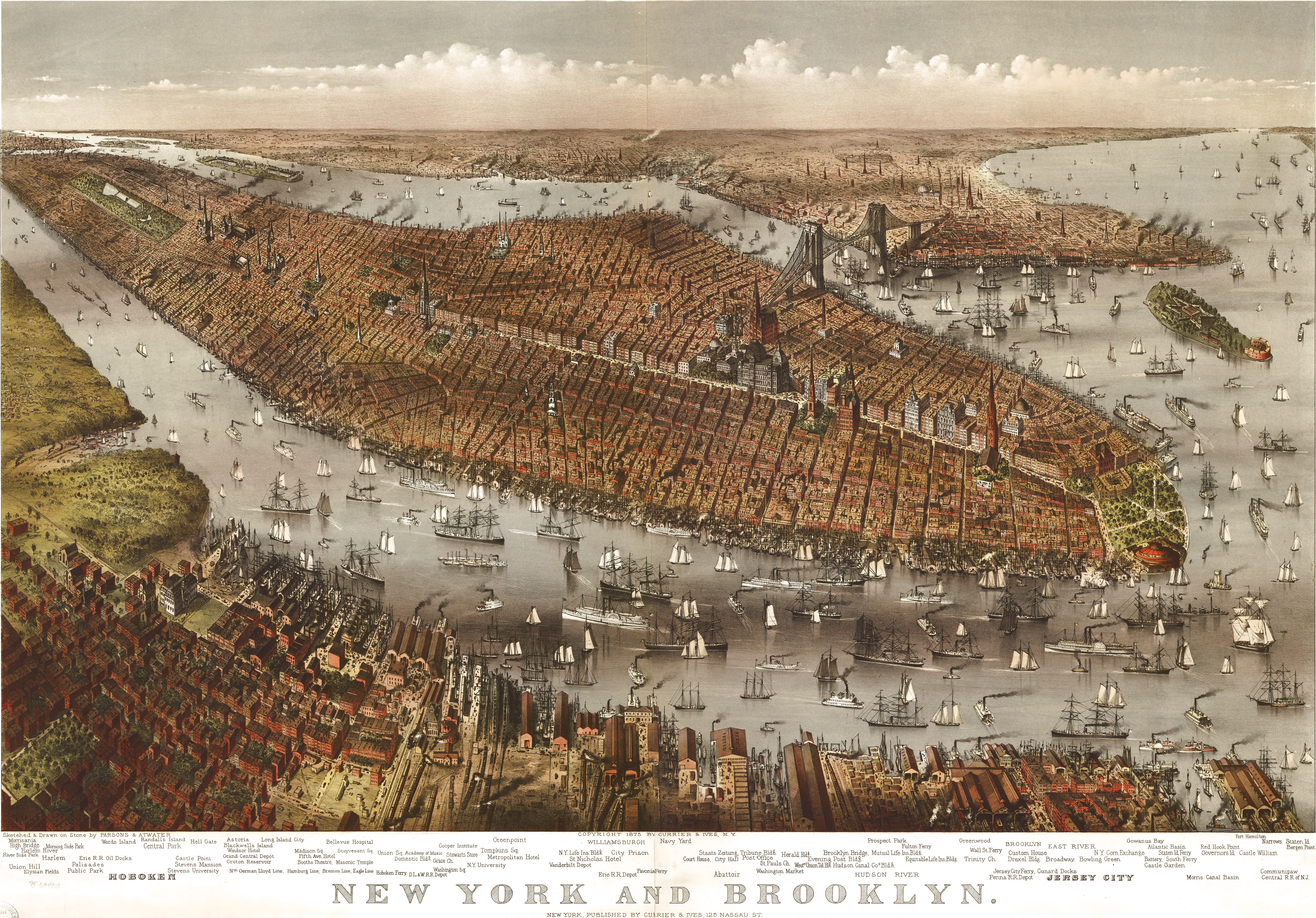 Free Downloads Of Large Old New York City Maps Minimalgoods - Antique maps nyc
