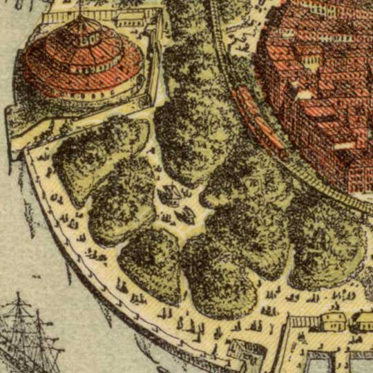 The City of New York – Williams image detail