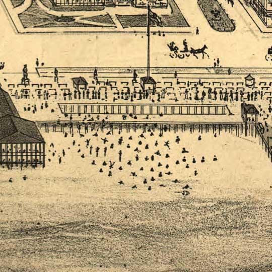 Birdseye view of Asbury Park, New Jersey image detail