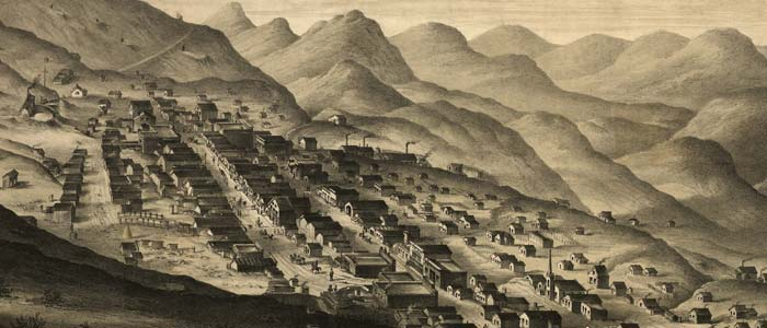 Virginia City, Nevada Territory, Drawn from Nature image