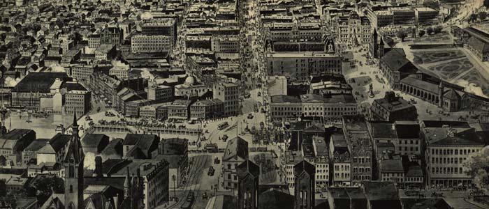 Birdseye view of Providence, Rhode Island image