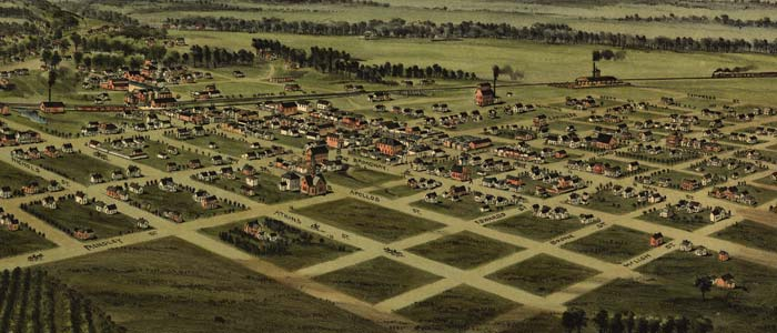 Birdseye view of Ardmore, Indian Territory (Oklahoma) image