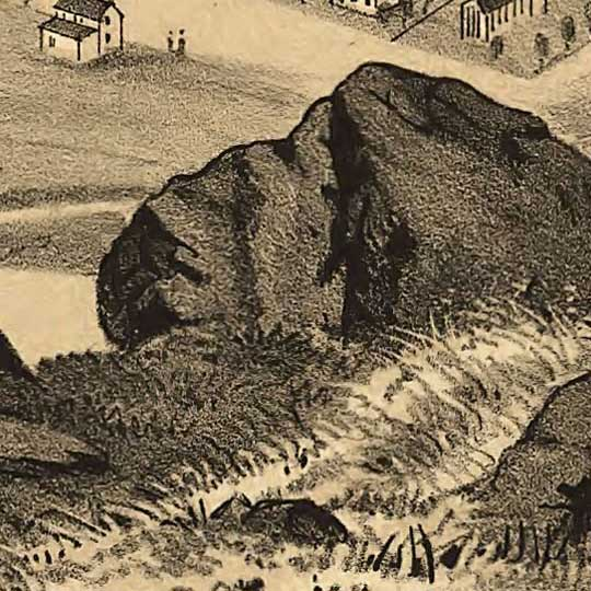 Birdseye view of Brigham City, Utah image detail