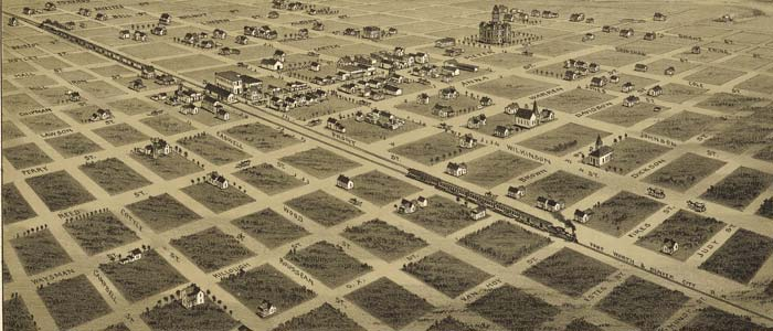 Birdseye view of Childress, Texas image