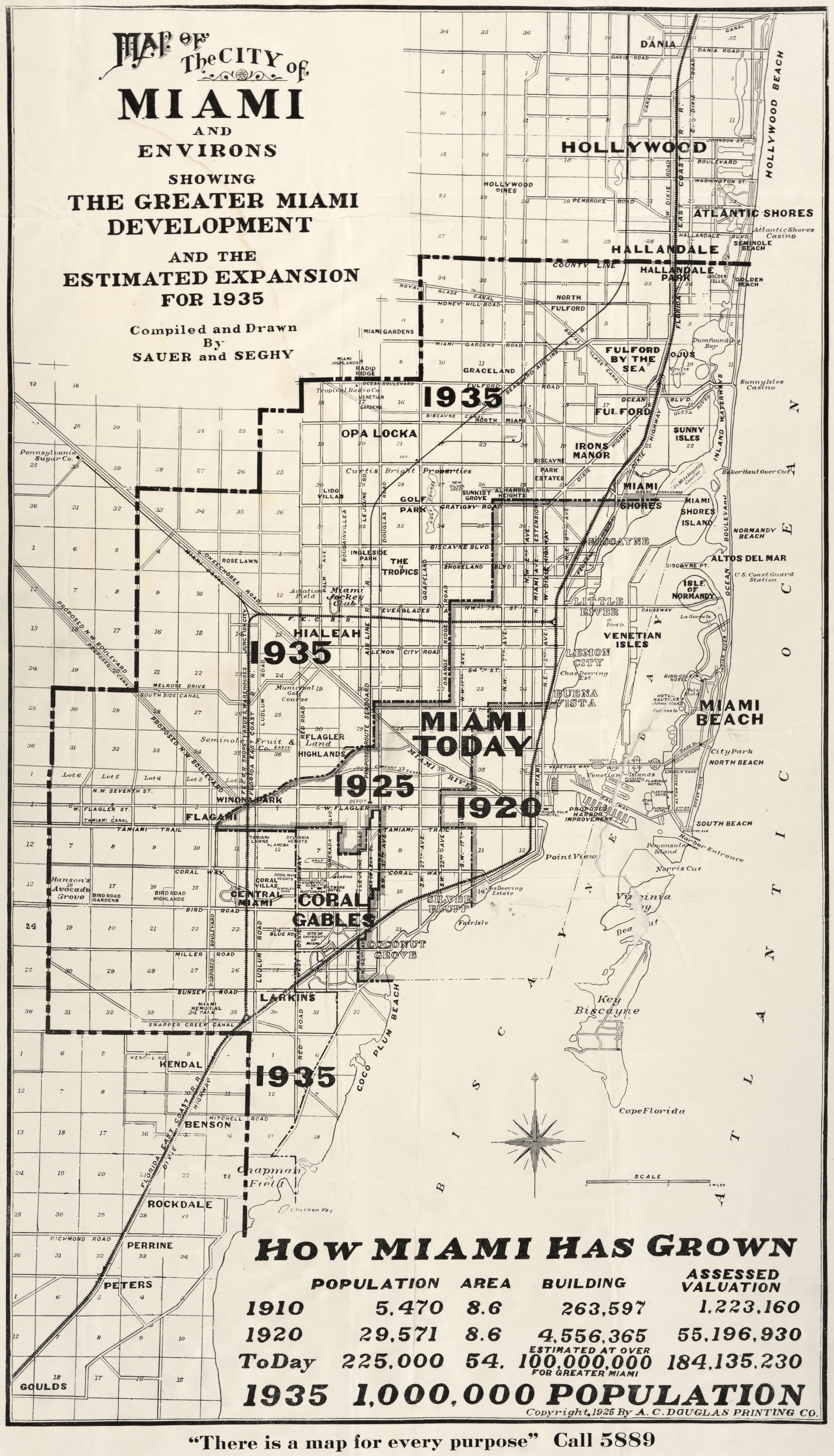 Historical Boundaries Of Miami Florida - Florida map miami area