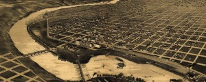 Amer. Pub. Co.'s Perspective map of Great Falls, Montana in 1891. Perspective Map of Great Falls, Montana Date: 1891 Author: American Publishing Co. Dwnld: Full Size (10.3mb) Print Availability: See our Prints Page for more details pff This map isn't part of any series, but we have other featured maps that you might want to check out. The American Publishing Co.'s birdseye map of Great Falls, Montana [gmap] in 1891. For...
