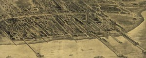 J.G. Mark's birdseye map of Coney Island, Brooklyn, NYC in 1906. Birdseye view of Coney Island, Brooklyn, NYC Date: 1906 Author: J.G. Mark Dwnld: Full Size (7.8mb) Print Availability: See our Prints Page for more details pff This map isn't part of any series, but we have other New York City maps that you might want to check out. I've been told by many friends whose opinions I respect that...