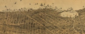 G.H. Goddard's birdseye map of San Francisco from 1868. Birdseye View of San Francisco Date: 1868 Author: G.H. Goddard Dwnld: Full Size (19.5mb) Print Availability: See our Prints Page for more details pff This map isn't part of any series, but we have other Bay Area maps that you might want to check out. Goddard's view of San Francisco[gmap] and SF Bay from 1868. For more maps and images from […]