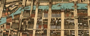 Poole Bros.' birdseye view of the business district of Chicago in 1898. Birdseye view of the business district of Chicago Date: 1898 Author: Poole Bros. Dwnld: Full Size (17.8mb) Print Availability: See our Prints Page for more details pff This map isn't part of any series, but we have other Illinois maps that you might want to check out. The Poole Bros.'s map of the business district of Chicago [gmap] in...