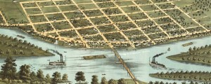A. Ruger&#039;s birdseye map of Sauk City, Wisconsin in 1870. Birdseye view of Sauk City, Wisconsin Date: 1870 Author: A. Ruger Dwnld: Full Size (4.9mb) Print Availability: See our Prints Page for more details pff This map isn&#039;t part of any series, but we have other featured maps that you might want to check out. A. Ruger&#039;s birdseye map of Sauk City, Wisconsin&nbsp;[gmap] from 1870. For more maps and images...