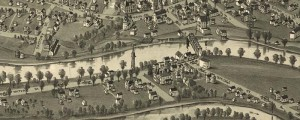 T.M. Fowler's birdseye map of Buckhannon, West Virginia in 1900. Birdseye view of Buckhannon, West Virginia Date: 1900 Author: T.M. Fowler Dwnld: Full Size (6.4mb) Print Availability: See our Prints Page for more details pff This map isn't part of any series, but we have other featured maps that you might want to check out. Buckhannon, West Virginia [gmap] is a coal town on the B&O R.R. Buckhannon was also the...