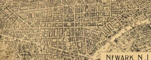 T.J.S. Landis' birdseye map of Newark, New Jersey in 1895. Birdseye view of Newark, New Jersey Date: 1895 Author: T.J.S. Landis Dwnld: Full Size (16.4mb) Print Availability: See our Prints Page for more details pff This map isn't part of any series, but we have other Featured maps that you might want to check out. Some of Landis' other works are really cool, but this one, of Newark, New Jersey [gmap]...