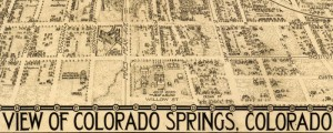 Benford-Bryan Pub. Co.'s birdseye map of Colorado Springs, Colorado in 1909. Birdseye View of Colorado Springs Date: 1909 Author: Benford-Bryan Pub. Co. Dwnld: Full Size (5.9mb) Print Availability: See our Prints Page for more details pff This map isn't part of any series, but we have other Colorado maps that you might want to check out. One of only two Benford-Bryan birdseyes I've tracked down, this print of Colorado Springs [gmap]...