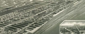 Rene Cinquin's Aeroview of Margate City, New Jersey, in 1925. Aeroview of Margate City, New Jersey Date: 1925 Author: Rene Cinquin Dwnld: Full Size (9.4mb) Print Availability: See our Prints Page for more details pff This map isn't part of any series, but we have other featured maps that you might want to check out. This is what I'm assuming must be a real estate developer's promotional image of Margate...