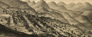 C.C. Kuchel's birdseye map of Virginia City, Nevada Territory, Drawn from Nature in 1891. Virginia City, Nevada Territory, Drawn from Nature Date: 1891 Author: C.C. Kuchel Dwnld: Full Size (12.4mb) Print Availability: See our Prints Page for more details pff This map isn't part of any series, but we have other Featured maps that you might want to check out. C.C. Kuchel's birdseye map of Virginia City, Nevada [gmap] in 1891....