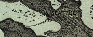 Charles H. Baker & Co.'s birdseye View of Seattle and the Puget Sound, from 1891 Puget Sound and Seattle Birdseye view Date: 1891 Author: Charles H, Baker & Co. Dwnld: Full Size (7mb) Print Availability: See our Prints Page for more details pff This map isn't part of any series, but we have other maps of Seattle that you might want to check out. Baker's birdseye map of Seattle [gmap] in […]