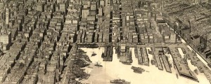 Edward W. Spofford's birdseye view of the heart of Baltimore in 1912. Birdseye view of the heart of Baltimore Date: 1912 Author: Edward W. Spofford Dwnld: Full Size (13.5mb) Print Availability: Read the image's Imperfections Manifest page for a better understanding of this print. pff Spofford's birdseye map of the heart of Baltimore, Maryland [gmap] in 1912. For more maps and images from this period in the region's history, visit the...