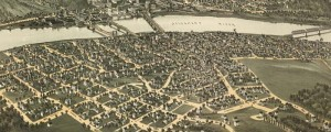 T.M. Fowler's birdseye map of Oil City, Pennsylvania in 1896. Birdseye view of Oil City, Pennsylvania Date: 1896 Author: T.M. Fowler Dwnld: Full Size (16.4mb) Print Availability: See our Prints Page for more details pff This map isn't part of any series, but we have other maps of Pennsylvania that you might want to check out. As its name might suggest, Oil City, Pennsylvania [gmap] played a key role in the […]