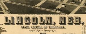 H. Wellge&#039;s birdseye map of Lincoln, Nebraska in 1889. Birdseye View of Lincoln, Nebraska Date: 1889 Author: H. Wellge Dwnld: Full Size (13.4mb) Print Availability: See our Prints Page for more details pff This map isn&#039;t part of any series, but we have other Nebraska maps that you might want to check out. H. Wellge&#039;s birdseye illustration of Lincoln, Nebraska&nbsp;[gmap]. Servicable birdseye by Wellge, here. Another questionable inset position has...