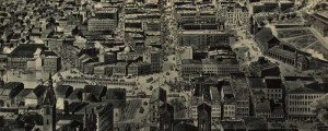 J.R. Chapin&#039;s birdseye map of Providence, Rhode Island in 1895. Birdseye view of Providence, Rhode Island Date: 1895 Author: J.R. Chapin Dwnld: Full Size (9.0mb) Print Availability: See our Prints Page for more details pff This map isn&#039;t part of any series, but we have other Featured maps that you might want to check out. A rather chaotic and cluttered birdseye print of Providence, Rhode Island&nbsp;[gmap] by J.R. Chapin from...