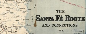 Map of the Santa Fe Railroad showing connections. By the Rand McNally company in 1888. Santa F RR and connections Date: 1888 Author: Rand McNally and Company Dwnld: Full Size (8.5mb) Print Availability: See our Prints Page for more details pff This map isn&#039;t part of any series, but we have other railroad maps that you might want to check out. Here&#039;s a very handsome map of the Sante Fe...
