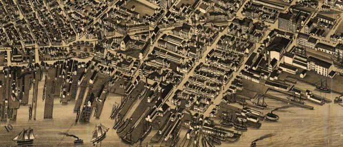 View of East Boston, Massachusetts – 1879