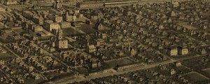 H. Wellge's birdseye map of Billings, Montana in 1904. Birdseye map of Billings, Montana Date: 1904 Author: H. Wellge Dwnld: Full Size (9.1mb) Print Availability: See our Prints Page for more details pff Made very late in Wellge's career as an artist, this image of Billings [gmap], Montana shows many of his trademarks; one that stands out the most is his unique sense of rendering smoke effects from chimneys, trains, etc. […]
