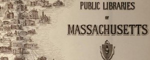 George Hartnell Bartlett's map of the Public Libraries of Massachusetts from 1915. Public Libraries of Massachusetts Date: 1915 Author: George Hartnell Bartlett Dwnld: Full Size (15mb) Print Availability: See our Prints Page for more details pff This map isn't part of any series, but we have other Massachusetts maps that you might want to check out. This charming map was made by Arlington, Massachusetts native George H. Bartlett and engraved...
