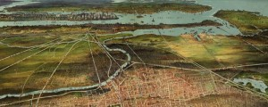 Shepherd&#039;s birdseye map of Newark, New Jersey in 1916. Birdseye view of Newark, New Jersey  Shepherd Date: 1916 Author: Shepherd Dwnld: Full Size (12.0mb) Print Availability: See our Prints Page for more details pff This map isn&#039;t part of any series, but we have other New York maps that you might want to check out. This map isn&#039;t part of any series, but we have other New York City...