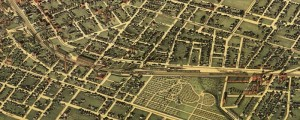 Augustus Koch's birdseye view of Atlanta in 1892. Birdseye view of Atlanta, Georgia – 1892 Date: 1892 Author: Augustus Koch Dwnld: Full Size (17.8mb) Print Availability: See our Prints Page for more details pff This map isn't part of any series, but we have other maps of Atlanta that you might want to check out. Augustus Koch has only made around a dozen birdseye maps that I've been able to...