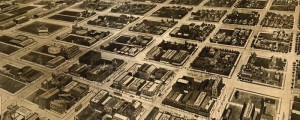 E.E. Motter's birdseye map of Amarillo, Texas in 1912. Aeroplane View of Amarillo, Texas Date: 1912 Author: E.E. Motter Dwnld: Full Size (8.1mb) Print Availability: See our Prints Page for more details pff This map isn't part of any series, but we have other Texas maps that you might want to check out. It's still hard to fathom, when you think about it, that we first achieved heavier-than-air powered flight...