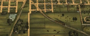 J.W. Smith's birdseye view of Mattoon, Illinois, in 1884. Birdseye view of Mattoon, Illinois Date: 1884 Author: J.W. Smith Dwnld: Full Size (12.3mb) Print Availability: See our Prints Page for more details pff This map isn't part of any series, but we have other Illinois maps that you might want to check out. This birdseye map of Mattoon, Illinois [gmap] is the only credited work that J.W. Smith produced for Shober...