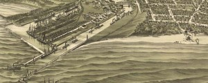 T.M. Fowler's birdseye map of Ashtabula Harbor, Ohio in 1896. Birdseye view of Ashtabula Harbor, Ohio Date: 1896 Author: T.M. Fowler Dwnld: Full Size (9.1mb) Print Availability: See our Prints Page for more details pff This map isn't part of any series, but we have other featured maps that you might want to check out. Ashtabula, Ohio [gmap] takes its name from the nearby Ashtabula River; which, in some American Indian...
