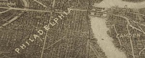 Edward W. Spofford's birdseye map of Philadelphia and Vicinity from 1926. Birdseye Map of Philadelphia and vicinity Date: 1926 Author: Edward W. Spofford Dwnld: Full Size (13.0mb) Print Availability: See our Prints Page for more details pff This map isn't part of any series, but we have other maps of Pennsylvania that you might want to check out. An interesting and rather unique high-angle oblique photo of Philadelphia [gmap], with superimposed […]