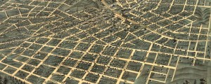 A. Ruger&#039;s Birdseye map of Atlanta, Georgia, from 1871. Birdseye view of Atlanta, Georgia Date: 1871 Author: A. Ruger Dwnld: Full Size (15.3mb) Print Availability: See our Prints Page for more details pff This map isn&#039;t part of any series, but we have other maps of Georgia that you might want to check out. Great looking early print by my hometown boy, Albert Ruger; this one of Atlanta&nbsp;[gmap] and centered...