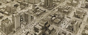 E.E. Motter's birdseye map of Houston, Texas in 1912. Houston – a Modern City – Birdseye Date: 1912 Author: E.E. Motter Dwnld: Full Size (9.7mb) Print Availability: See our Prints Page for more details pff This map isn't part of any series, but we have other Texas maps that you might want to check out. E.E. Motter's birdseye map of Houston [gmap] in 1912. For more maps and images from this...