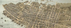 C.N. Drie's birdseye map of Charleston, South Carolina in 1874. Birdseye view of Charleston, South Carolina Date: 1874 Author: C.N. Drie Dwnld: Full Size (16.6mb) Print Availability: See our Prints Page for more details pff This map isn't part of any series, but we have other featured maps that you might want to check out. Drie's map of Charleston, South Carolina [gmap]. I'm loving the naming of the individual piers. I'm...