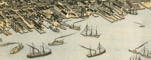Augustus Koch's birdseye view of Jacksonville, Florida in 1893. Birdseye view of Jacksonville, Florida Date: 1893 Author: Augustus Koch Dwnld: Full Size (16.4mb) Print Availability: See our Prints Page for more details pff This map isn't part of any series, but we have other Florida maps that you might want to check out. A very accomplished and handsome birdseye of Jacksonville, Florida [gmap] A. Koch, whose work is deserving of close...