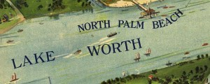 W.K. Pleuthner's Panoramic view of West Palm Beach, Florida, from 1915. Panorammic view of West Palm Beach, Florida Date: 1915 Author: W.K. Pleuthner Dwnld: Full Size (17.5mb) Print Availability: See our Prints Page for more details pff Pleuthner's birdseye map of West Palm Beach, Florida [gmap] in 1915. For more maps and images from this period in the region's history, visit the Florida Historical Society.