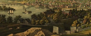 E. Sachese's view of Georgetown, Washington D.C. In 1855. View of Georgetown, Washington D.C. Date: 1855 Author: E. Sachese and Co. Dwnld: Full Size (9.1mb) Print Availability: See our Prints Page for more details pff This map isn't part of any series, but we have other Washington DC maps that you might want to check out. Sachese's birdseye map of Georgetown [gmap] in 1855. For more maps and images from this...
