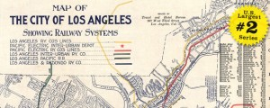 Map of Los Angeles railway systems in 1906 US40 #2 LOS ANGELES, CALIFORNIA (Rail Systems, 1906) Date: 1906 Author: LA Travel and Hotel Bureau Dwnld: Full Size (14mb) Source: Library of Congress Print Availability: See our Prints Page for more details pff This map is part of a series depicting the 40 largest cities in the United States (as ranked by CBSA). This series will run through the month of...