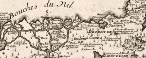 L'Ancienne Thebaide, ou, la Carta generale des lieux habitez par les Ss. peres des deserts French Map of the Holy Land (1738) Date: 1738 Author: Nicolas de Fer Dwnld: Full Size (9.04mb) Source: Library of Congress Print Availability: See our Prints Page for more details pff This map isn't part of any series, but we have other maps of the Middle East that you might want to check out. De […]