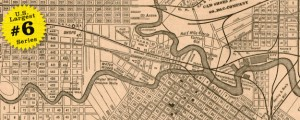 Map of Houston by Wm. M. Thomas &amp; Co. in 1890 US40 #6 HOUSTON, TEXAS (Roadmap, 1890) Date: 1890 Author: Wm. Thomas and Co Dwnld: Full Size (5mb) Source: Library of Congress Print Availability: See our Prints Page for more details pff This map is part of a series depicting the 40 largest cities in the United States (as ranked by CBSA). This series will run through the month of...