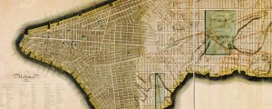 Map of the city of New York and island of Manhattan, as laid out by the commissioners appointed by the legislature, April 3, 1807. Bridges' survey of New York City (1807) Date: 1807 Author: William Bridges Dwnld: Full Size (18.45mb) Source: Library of Congress Print Availability: See our Prints Page for more details pff This map isn't part of any series, but we have other maps of New York City […]