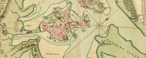 A plan of Boston, and its environs, shewing the true situation of His Majesty's army, and also those of the rebels Revolutionary War Map of the Boston Area (1776) Date: 1776 Author: Richard Williams Dwnld: 01, 02 Source: Library of Congress Print Availability: See our Prints Page for more details pff This map isn't part of any series, but we have other maps of Boston that you might want to...
