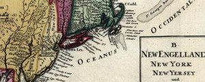 "Homann Erben's map of English territories in North America, from 1759. Map of English Dominions in North America Date: 1759 Author: Homann Erben Dwnld: Full Size (10.4mb) Print Availability: See our Prints Page for more details pff This map isn't part of any series, but we have other maps of exploration that you might want to check out. Johann Homann's map of the ""Dominia Anglorum"" (loose translation: ""English domain"" or..."